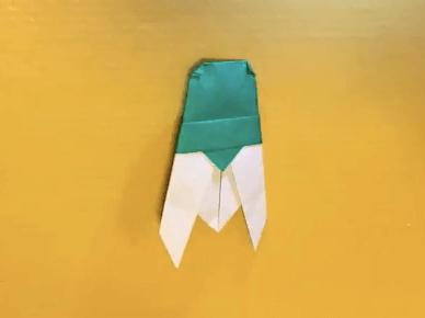 ミンミンゼミ風のセミの完成