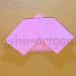 折り紙のお雛様の作り方