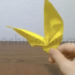折り紙のちょうちょの作り方