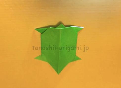 折り紙の亀