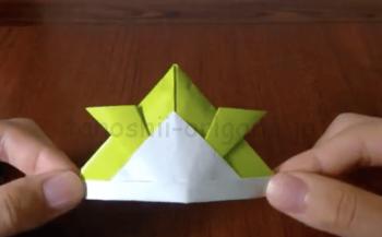 折り紙の兜(かぶと)の折り方