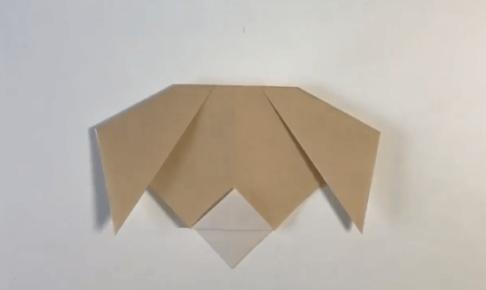 折り紙の犬の簡単な折り方