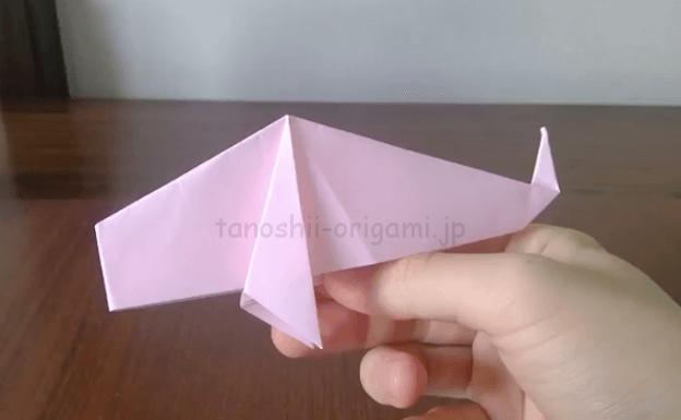 折り紙の鯉のぼり完成