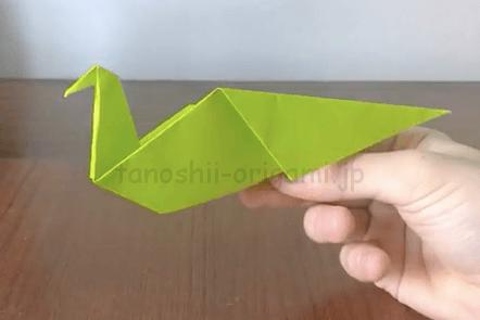 折り紙の鳥・きじの折り方