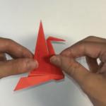 折り紙のおりはづるの折り方