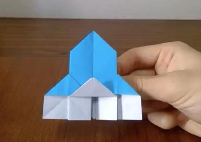 折り紙のせいようかんの作り方