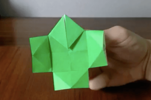 折り紙のやっこさんの作り方