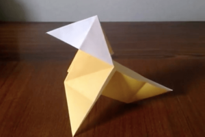 折り紙のパハリータの折り方