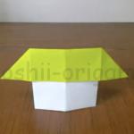 折り紙の家(おうち)が完成(2-17)