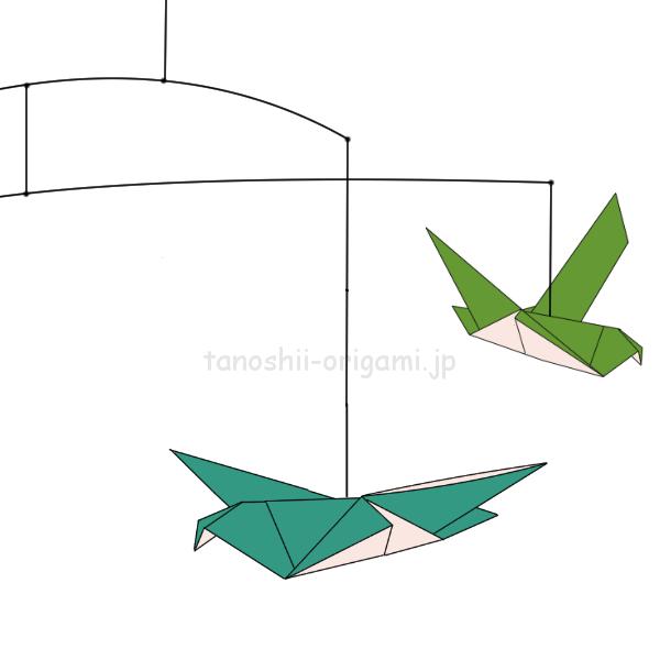 鳩の吊るし飾りもできる