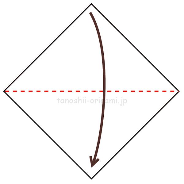 1.折り紙を半分に折る-6-2