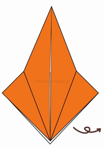10.折り紙を裏返す-5