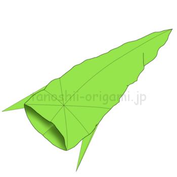 15.折り紙のなまずの完成.21-3