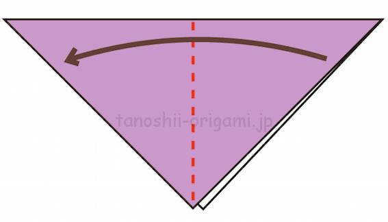 2.さらに折り紙を半分に折る-2-2-3