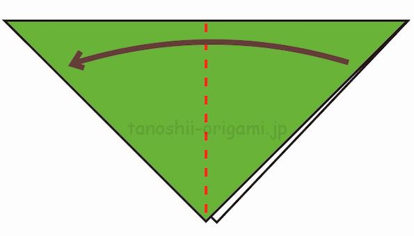 2.さらに折り紙を半分に折る-2-2-4