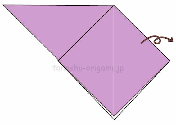 4.折り紙を裏返す-7