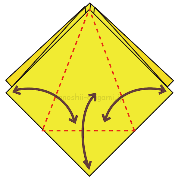 7.折り線をつける