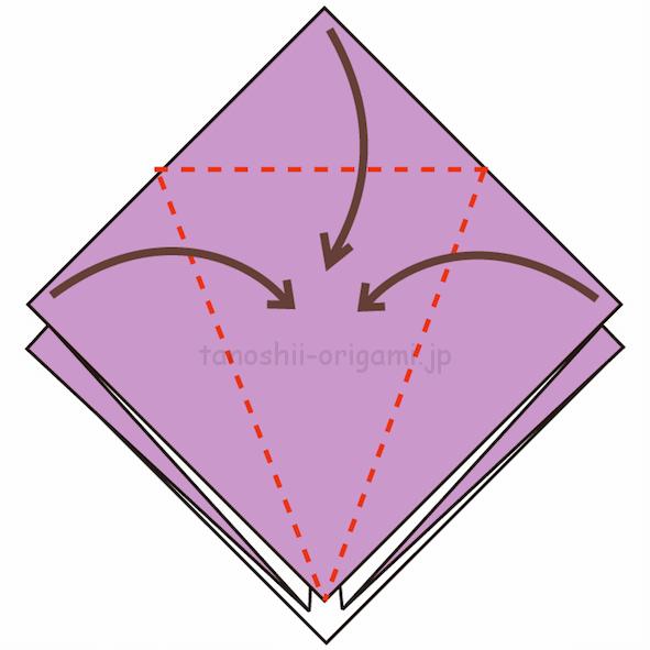 7.3カ所に折り線をつける-2
