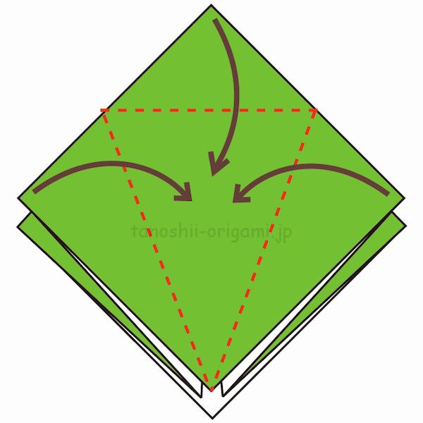 7.3カ所に折り線をつける-3