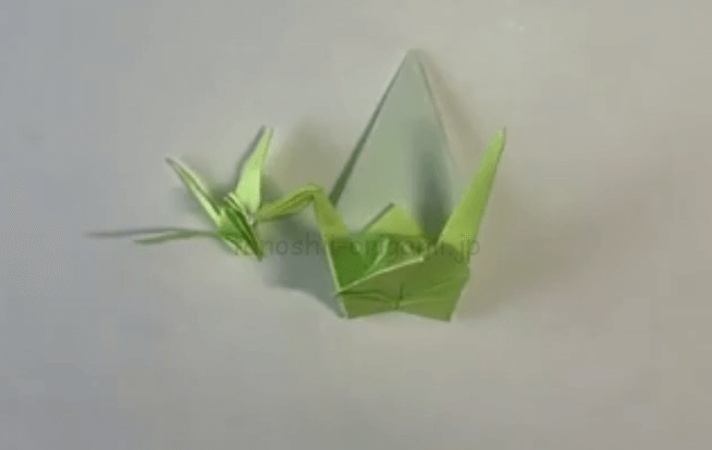 折り紙のえひろいの折り方