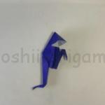 折り紙のおばけの作り方