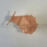 折り紙のかたつむりの折り方