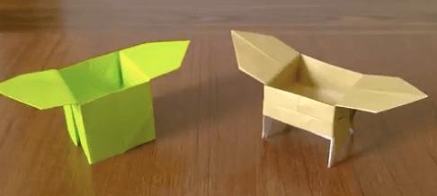 折り紙の三宝(さんぼう)の作り方