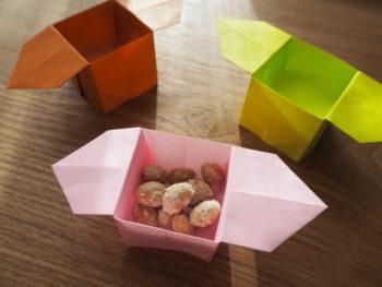 折り紙の三方