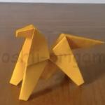 折り紙の宙返り馬の折り方
