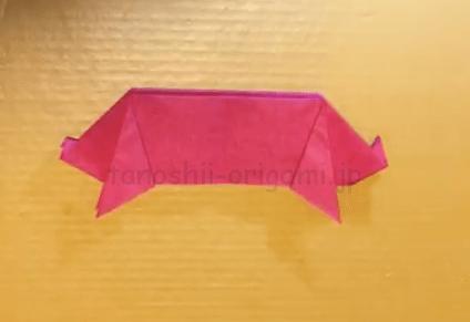 折り紙の豚(ぶた)の折り方