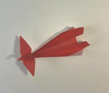 折り紙の鳳凰(ほうおう)の折り方