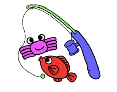 魚釣りのおもちゃ