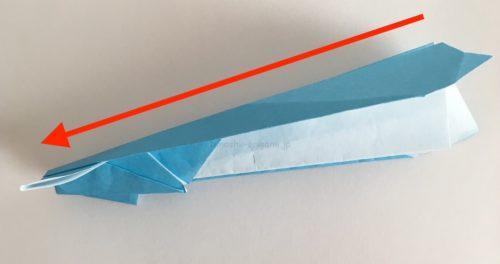 イカ飛行機の飛ばし方-2