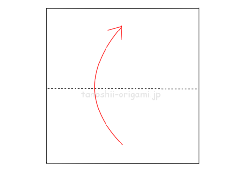 1.折り紙を半分に折る-10