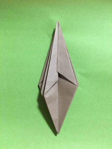 カタツムリの折り方工程11-2-2