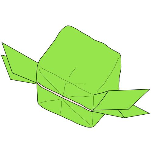 16.折り紙の航空小包(こうくうこづつみ)の完成