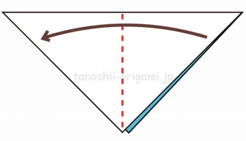 2.さらに折り紙を半分に折る-2-2-2
