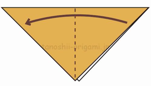 2.さらに折り紙を半分に折る-3-3