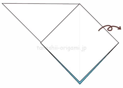 4.折り紙を裏返す-2