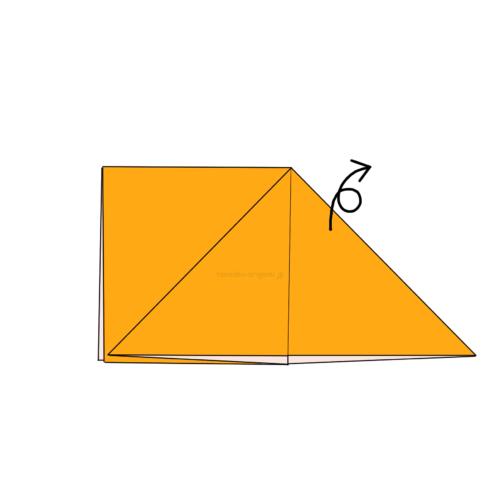 4.折り紙を裏返す-4