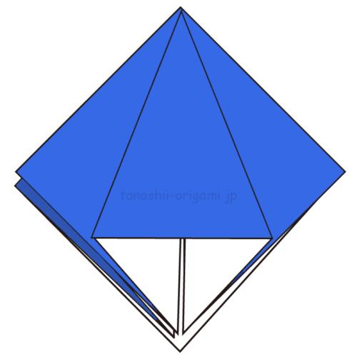 8.他の3カ所も同じように折る