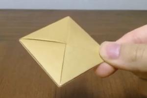 折り紙のコースター・手紙の折り方