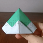 折り紙の兜の作り方