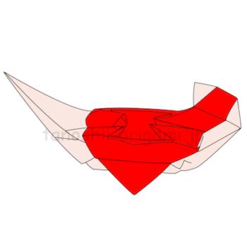 折り紙の宝船の完成!