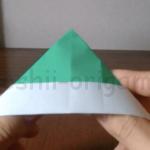 折り紙の帽子(ぼうし)の折り方