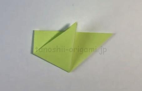 折り紙の雀(すずめ)の折り方