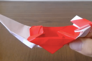 縁起物にオススメの折り紙の宝船