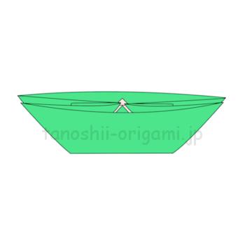 11-2.折り紙の船の形