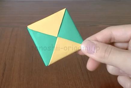折り紙のめんこ