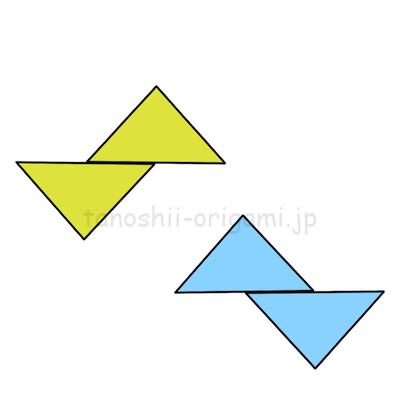 6-2.それぞれ反転した形になります。